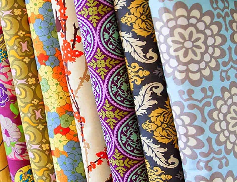a változatos kreton - lakástextil dekor anyag