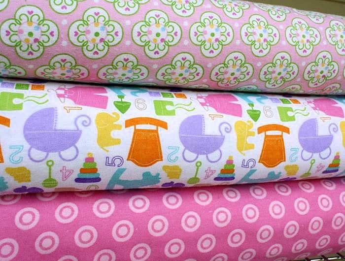 különböző mintás flanel - dekor lakástextil