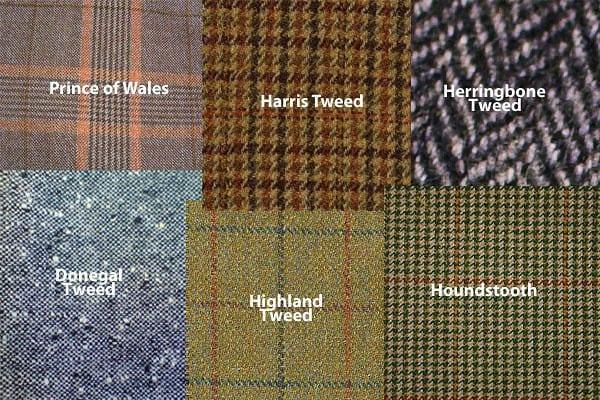 klasszikus tweed félék - lakástextil