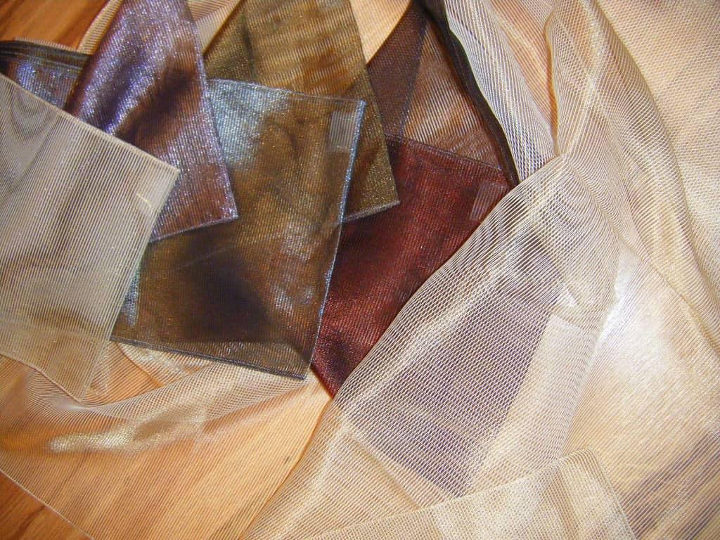 sokszínű struktúr - fényáteresztő függöny