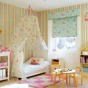 Baldachin, sátras szerkezeten, a kicsik birodalmában, tökéletes harmónia a színek között! A textil anyagokat keresd nálunk !