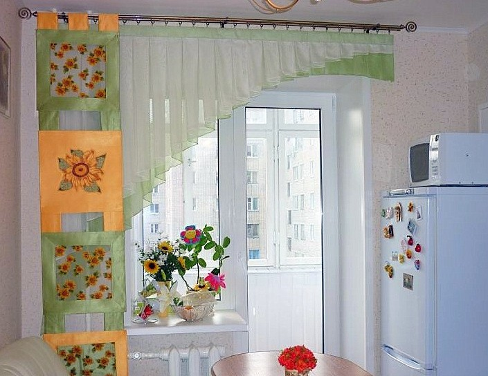 Függönyök konyhába