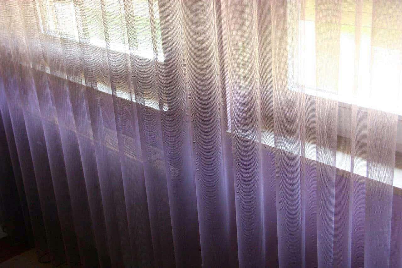 A vasalás nélküli függöny…