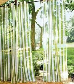 Színes fényáteresztő volie terasz függöny.