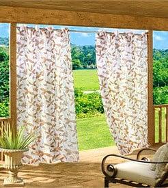 Kültéri terasz függöny speciális dekor anyagból