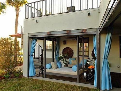 Mire használjuk a terasz alsó szintjét? Íme, erre.
