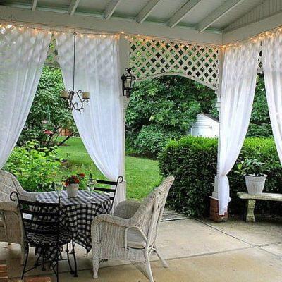 Kültéri KEWA- Gyűrt árnyékoló függöny 280 cm. 6.990 Ft · kültéri üni kerti  dekor ... 3dd553cb36