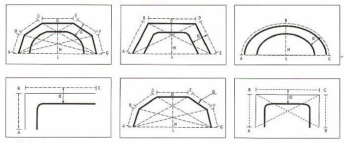 Mennyezeti, szögben hajlított alumínium profil sínkarnis hajlítható szögei.3