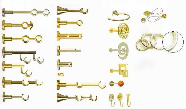 Rúdkarnis egyedi konzol variációi.