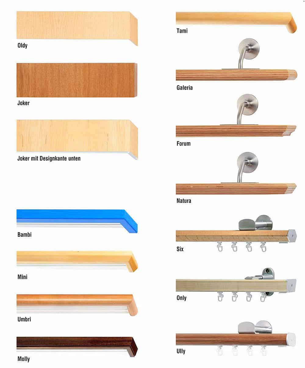 Előlapos fa karnis kínálat - Agria textil.1