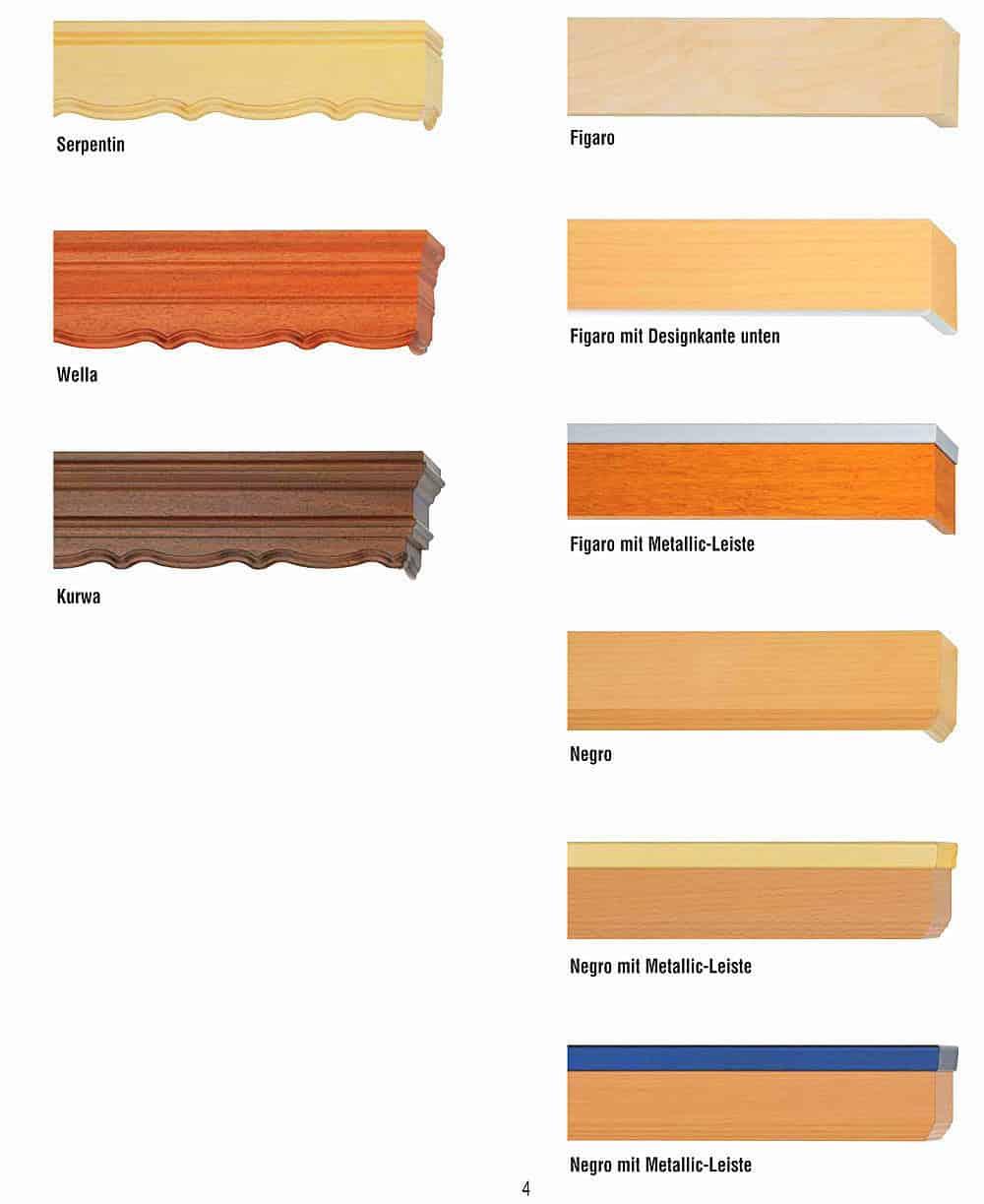 Előlapos fa karnis kínálat - Agria textil.2