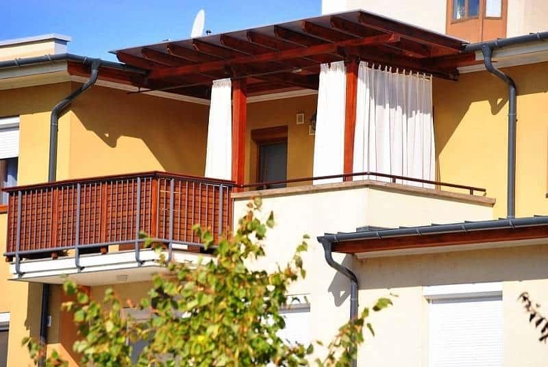 Kültéri függöny, terasz függöny, kerti függöny, pergola függöny:10