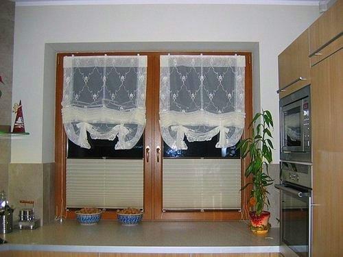 Konyhai függöny kisméretű ablakokra 31