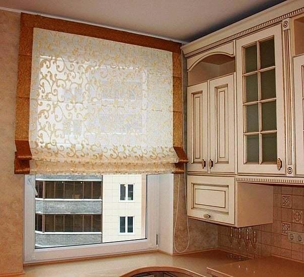Konyhai függöny kisméretű ablakokra 34