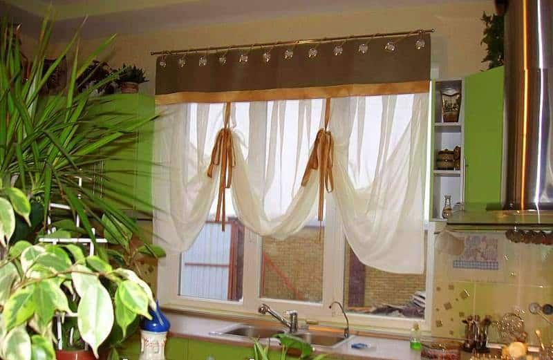 Konyhai függöny kisméretű ablakokra 36
