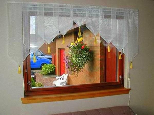Konyhai függöny kisméretű ablakokra 29