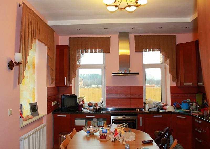 Konyhai függöny kisméretű ablakokra 2