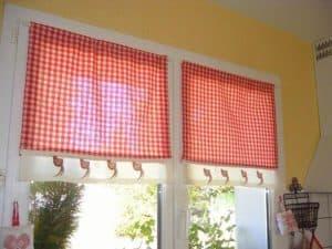 Konyhai függöny kisméretű ablakokra 22