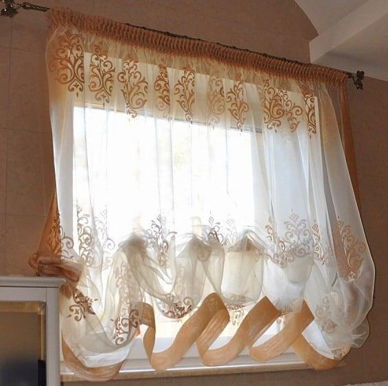 Konyhai függöny kisméretű ablakokra 41