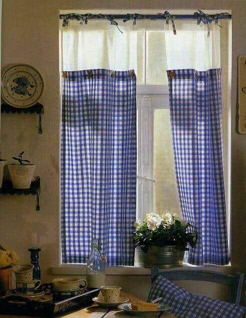 Konyhai függöny kisméretű ablakokra 40
