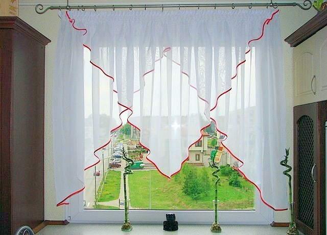 Konyhai függöny kisméretű ablakokra 8
