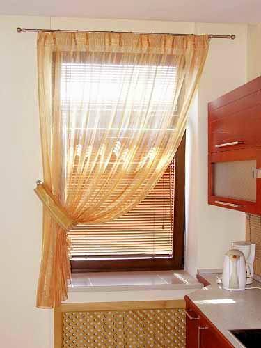 Konyhai függöny kisméretű ablakokra 42