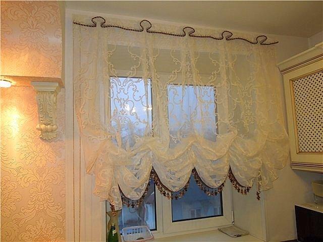 Konyhai függöny kisméretű ablakokra 16