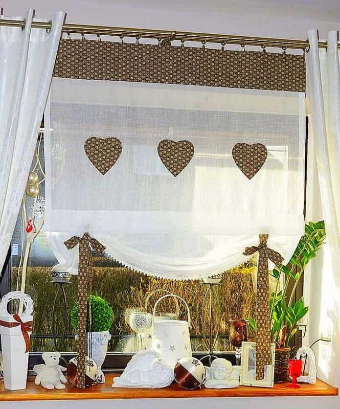 Konyhai függöny kisméretű ablakokra 30