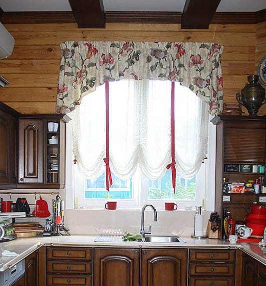 Konyhai függöny kisméretű ablakokra 44