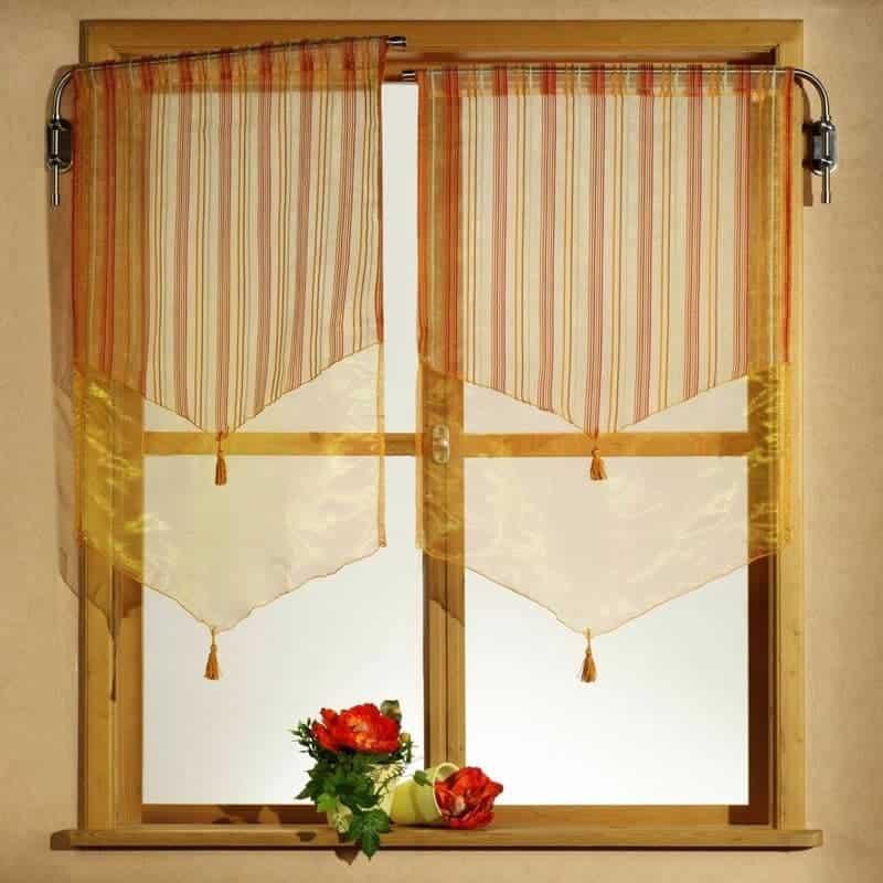 Konyhai függöny kisméretű ablakokra 28