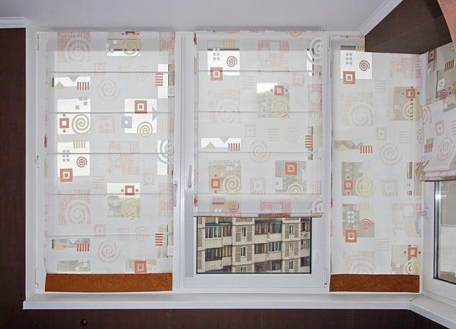Konyhai függöny kisméretű ablakokra 38