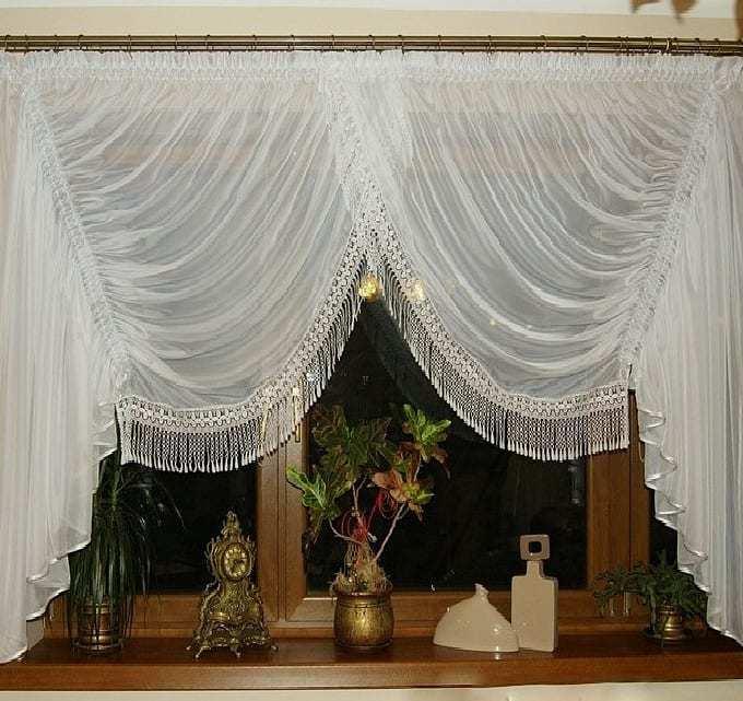 Konyhai függöny kisméretű ablakokra 26