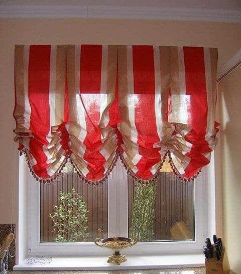 Konyhai függöny kisméretű ablakokra 35