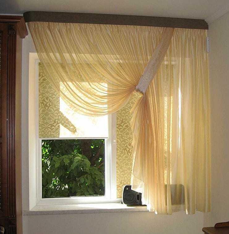 Konyhai függöny kisméretű ablakokra 43