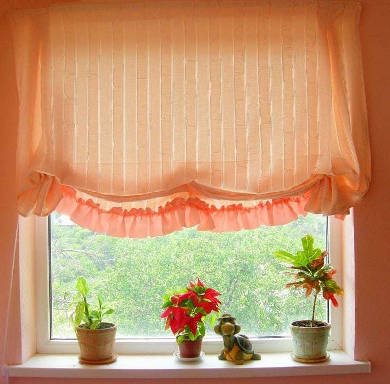 Konyhai függöny kisméretű ablakokra 25