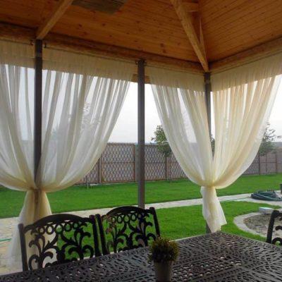 függöny kültérre termékcímke - Agria Textil Design 9e8d88c306