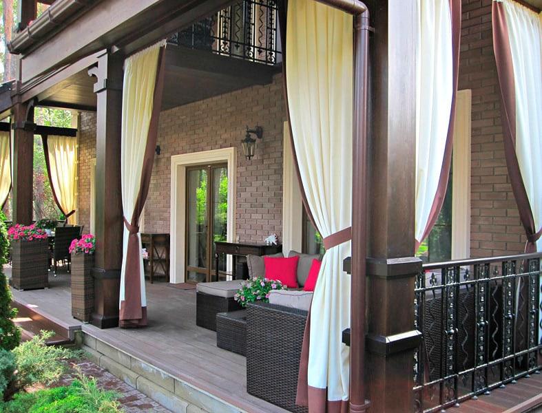 Kültéri Brendy - Szatén dekor függöny 150 cm - Agria Textil Design 8801175d69