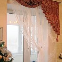 A dekor függöny, kis ablakra is tökéletes megoldás.