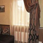 A sötétítő függöny dekorál, és funkcionál is egyben.