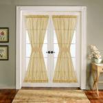 Vitrázs függöny alul-felül rögzítve. Nem csak ablakokra, de ajtókra is tökéletes megoldás !