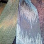Modern mintás, kétoldalas sötétítő, gyönyörű színekben.